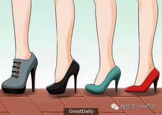 記住這15點,以後讓你穿高跟鞋再也不會腳痛了!